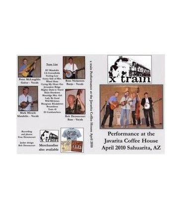 X Train Bluegrass Band Live Bluegrass Concert DVD