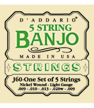 Discounts on Banjo Strings - TWO SETS - 4-String - Tenor Daddario Banjo Strings