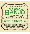 String Discount -TWO SETS Ball End - Daddario J69B