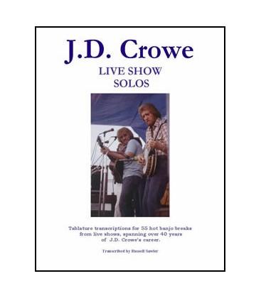 Book - J.D. Crowe Live Show Solos
