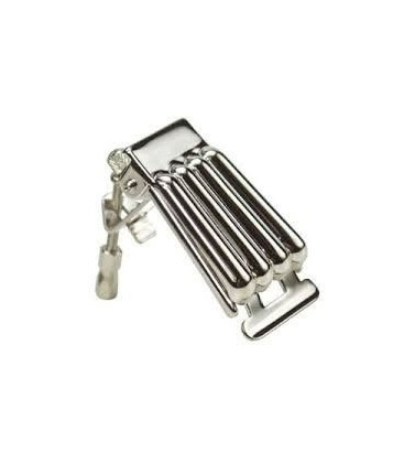 Clamshell Style Banjo Tailpiece - P-111