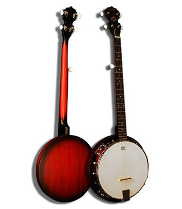 Morgan Monroe - MB-15 Resonator Banjo With complete Beginner Banjo Package - Special Sale Prices on this banjo until stock runs