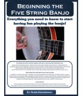 Beginning the Five-String Banjo Book/CD and DVD