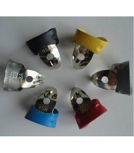 Picks - Coated For Comfort Banjo Picks - Smaller Pick Size for Children or Petite Fingers