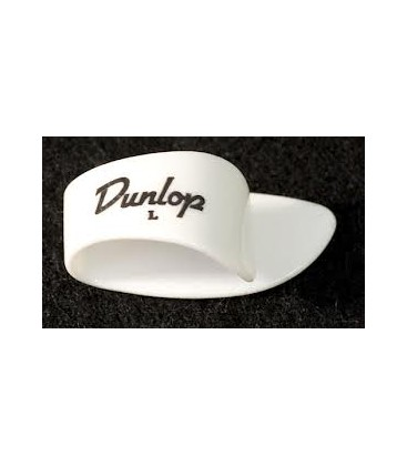 Dunlop White Plastic Thumbpicks