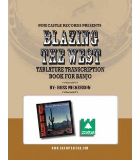 Blazing the West CD and Tablature Book - Wire Bound Book/CD By Ross Nickerson