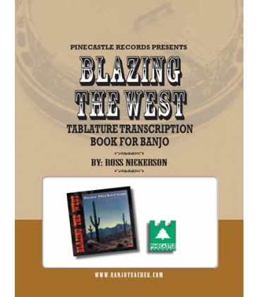 E-Book - Blazing the West CD Tab E-Book with CD Tracks to Download