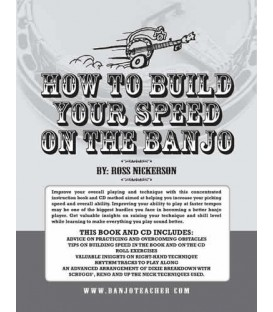 How To Build Your Speed On The Banjo E-Book With Recordings To Download