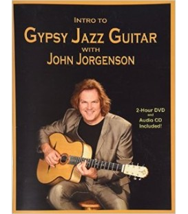Book - Guitar - John Jorgenson - Intro To Gypsy Jazz Guitar - Book/CD/DVD Set