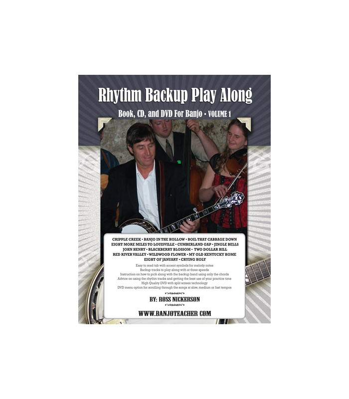 Bluegrass Backup Band Cd Learn To Play Banjo In A Jam Session