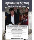 Rhythm Backup Band Play Along Spiral Bound Book, CD and DVD Volume 1