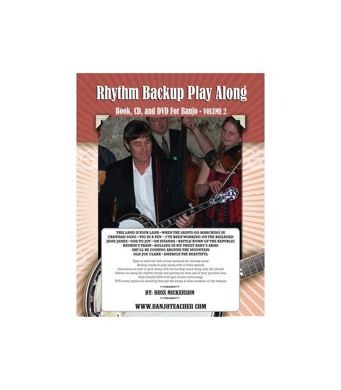 Rhythm Backup Band Play Along Vol 2 - Spiral Bound Book/CD/DVD By Ross  Nickerson