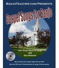 Gospel Music for Banjo - Spiral Bound Book/CD/DVD By Ross Nickerson