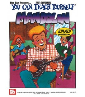 You Can Teach Yourself Mandolin Book (Book + Online Audio/Video)& DVD