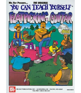Book - Guitar - You Can Teach Yourself Flatpicking Guitar - Book Only