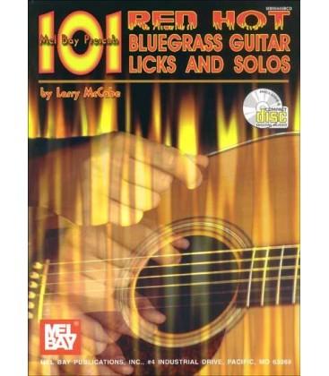 Book - Guitar - 101 Red Hot Bluegrass Guitar Licks and Solos - Book/CD Set