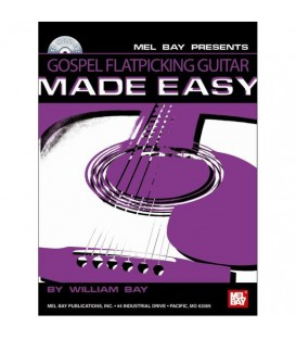 Book -Guitar - Gospel Flatpicking Guitar Made Easy - Book/CD Set