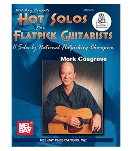 Guitar - Hot Solos for Flatpick Guitarists -(Book + Online Audio)