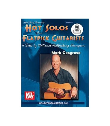 Book - Guitar - Hot Solos for Flatpick Guitarists - Book/CD Set