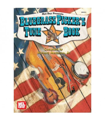 Book - Guitar - Bluegrass Picker's Tune Book