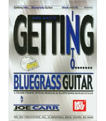Book - Guitar - Getting Into Bluegrass Guitar Book/CD Set