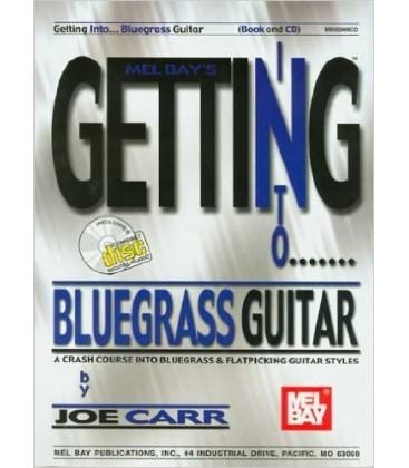 Book - Guitar - Getting Into Bluegrass Guitar Book/CD Set