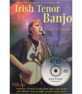 Book - Gerry O'Connor - Complete Guide to Learning the Irish Tenor Banjo - Book/CD