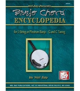 Banjo Chord Encyclopedia for 5-String or Plectrum Banjo - G and C Tunings