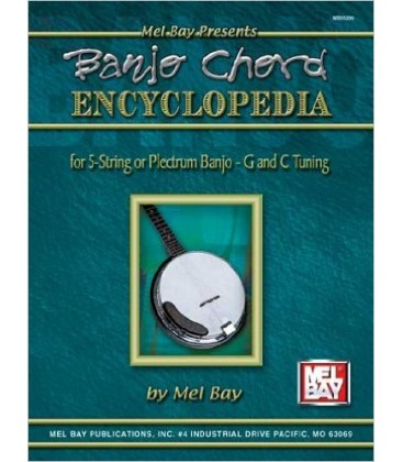 Book - Banjo Chord Encyclopedia for 5-String or Plectrum Banjo - G and C Tunings