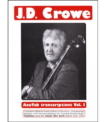 Book - J.D. Crowe AcuTab Transcriptions Vol1