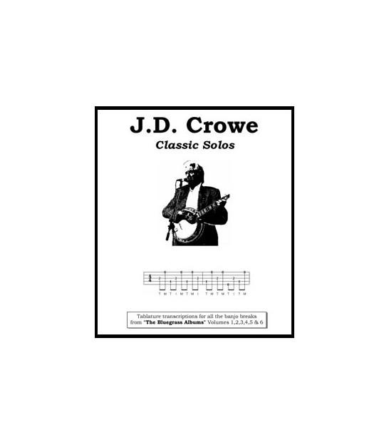 J D  Crowe Classic Solos Tablature transcriptions