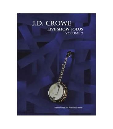Book - J.D. Crowe Live Show Solos Volume 2