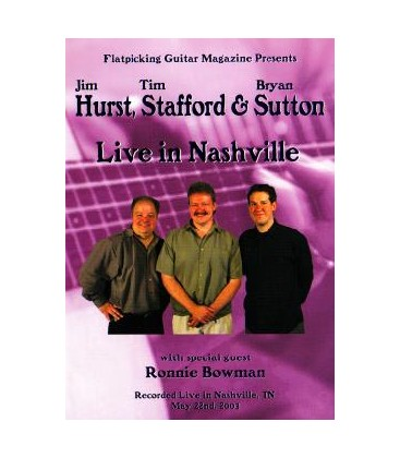 DVD - Live in Nashville (DVD) - Hurst, Stafford & Sutton