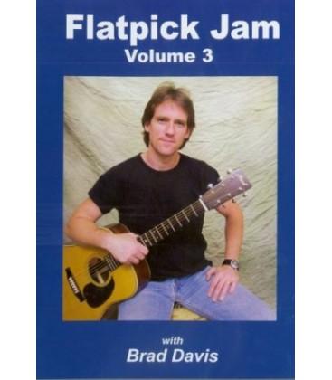 DVD - Flatpick Jam Volume 3 (DVD) with Brad Davis