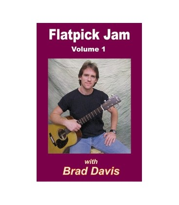 DVD - Flatpick Jam Volume 1 (DVD) with Brad Davis