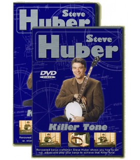 DVD - Steve Huber Banjo set up and repair