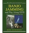 Banjo Jamming and Play Along - Ross Nickerson DVD Video and Tab Book