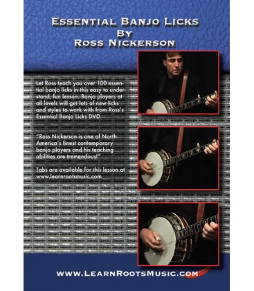 DVD - Essential Banjo Licks DVD by Ross Nickerson