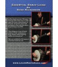 Essential Banjo Licks by Ross Nickerson - DVD Video and Tab Book