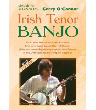 DVD - Gerry O'Connor Absolute Beginners Irish Tenor Banjo DVD