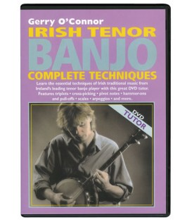 DVD - Gerry O'Connor - Irish Tenor Banjo Complete Techniques DVD
