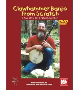 DVD - Clawhammer Banjo From Scratch - a two DVD set from Dan Levenson