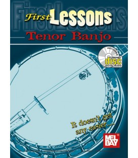 Book - First Lesson Tenor Banjo