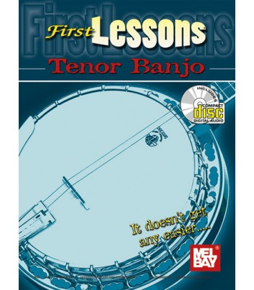 Book - First Lesson Tenor Banjo