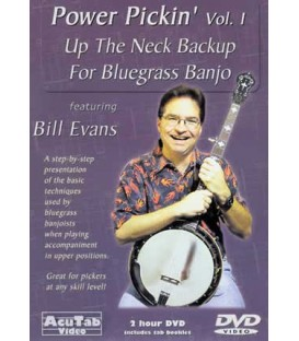 Back up Banjo-Up the Neck with Bill Evans - Volume 1
