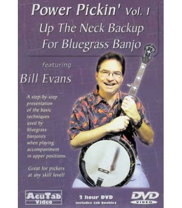 DVD - Vol1 - Back up Banjo-Up the Neck with Bill Evans
