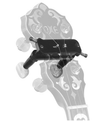 D-tuners for banjo with no drilling or set screws-standard size