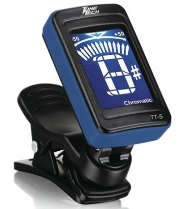 Tuner - Tune Tech TT-5 True Blue Chromatic Clip-On Vibration Tuner