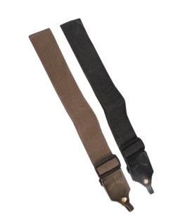 Gold Tone Banjo Strap for Beginner Banjos with Leather Tabs