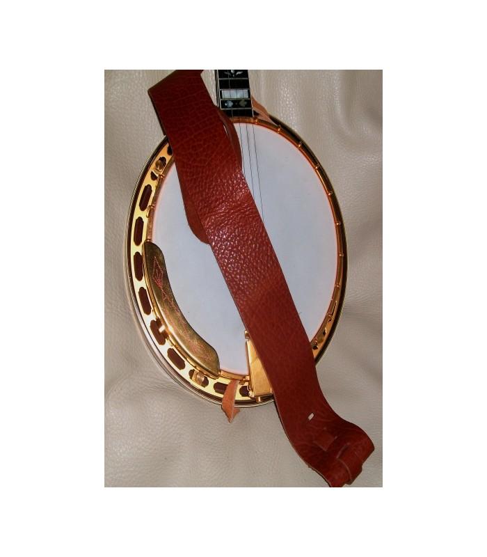 lakota banjo strap cradle design leather strap for banjo 3 39 wide. Black Bedroom Furniture Sets. Home Design Ideas